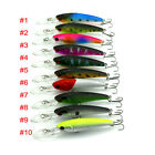 10pcs/Lot Fishing Lures Minnow Baits Life-like Fishing Baits Crankbaits 8g/10cm