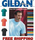 100 Gildan Heavy Cotton T-Shirts Blank Bulk Lots Tee Shirts Wholesale Lot 12
