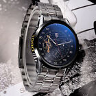 Luxury Men Stainless Steel TEVISE Mechanical Auto Military Wrist Watch+Gift BoxWristwatches - 31387