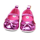 Cute Baby Girl Soft Sole Flower Crib Party Drses Shoes Infant Toddler Prewalkers