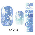 Full Self Adhesive Nail Art Wrap Stickers Polish Foils Decoration Decal Manicure