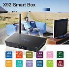 3GB/ 16GB X92 Android 6.0 TV Box Octa Core 4K 2.4G/5.8GHz Dual WiFi Media Player