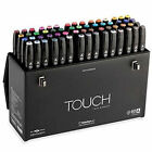 ShinHan TOUCH TWIN Marker 60 Colors Dual Point Marker (A,B Type) - Expedited