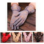 Fashion Women Bridal Evening Wedding Party Prom Driving Costume Lace Gloves