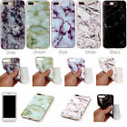 For Various Series Phones Marble Pattern Soft TPU Case Back Cover Skin YH