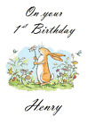 PERSONALISED BIRTHDAY CARD GUESS HOW MUCH I LOVE YOU 1st 2nd 3rd 4th 5th