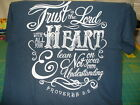 """LAST ONE!!!  """"Trust in the Lord"""" Kerusso Adult Short Sleeve Harbor Blue T-Shirt"""