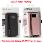 NEW Tech21 EVO Wallet Book Folio Credit Card Case Cover For Samsung Galaxy S7