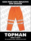 rain pants        mens wet weather work pant with reflective tape 5 pairs bocini