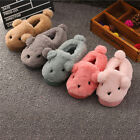Kids Boys Girls Cute Winter Warm Soft Plush Indoor Home Slippers Casual Shoes
