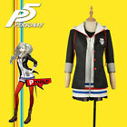 Persona 5 Anne Takamaki Dress Cosplay Costume Custom Hoody With Stockings