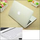 "2in1 Clear Rubberized Hard Case Cover Cut-out for MacBook Air Pro 13""13.3 Retina"