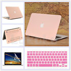 "3in1 Rose Quart/ Baby Pink Matte Case for MacBook Air Pro 13.3"" 15""-Release 2016"