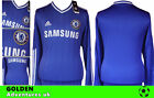 *13 / 14 - ADIDAS ; CHELSEA HOME SHIRT LS / PERSONALISED = SIZE*