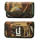 Reiko CAMO Rugged Canvas Clip Case Card Slot for Phones With Otterbox Defender
