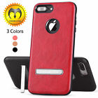 For Apple iPhone 7/7 Plus Leather Shockproof Luxury Protective Slim Case Cover