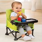 Baby Booster Seat Kids Infant Portable Folding Travel Feeding Tray High Chair