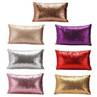 Super Shine Small Sequins Cushion Glitter Cover Throw Pillow Case Decor 7 Colors