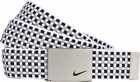 Nike Women's Woven Web Belt, Black/Grey, One Size