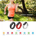 Unisex Smart Wrist Band Bluetooth Sleep Sport Fitness Activity Pedometer Watch