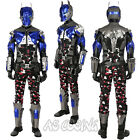 Batman Arkham Knight Deluxe Leather Outfit Cosplay Costume Custom Made All Size