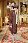 Courtier's Renaissance Jacket Handmade from Antique Velvet and Brocade
