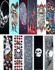 "Skateboard Graphics Grip tape 9"" x 33"" Multiple Designs to Choose image"