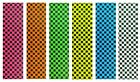 "Skateboard Checker Grip Tape 9"" x 33"" Multiple Colors options image"