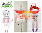 Five Choice Miss Kobayashi's Dragon Maid Kanna Kamui Cosplay Costume Shoes Wig