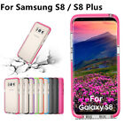 Colorful Edge Case For Samsung Galaxy S8 Plus Full Shockproof Armor Slim Cover