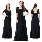 Long Formal Bridesmaid LACE Party Cocktail Prom Bridesmaid Evening Gown Dress /