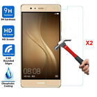 2pcs Transparent Tempered Glass Screen Protector Film for Huawei Nokia Sony
