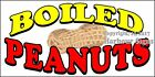 (CHOOSE YOUR SIZE) Boiled Peanuts DECAL Food Truck Vinyl Sign Concession