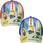 Boys Girls Kids Despicable Me 3 Minions Baseball Cap Summer Hat Surfers