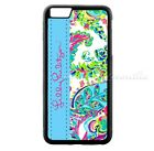 Lilly Pulitzer Colorful Stripe iPhone Samsung 5 6 7 8 9 X Plus Edge Hard Case
