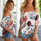 Fashion Women Summer Loose Top Long Sleeve Blouse Casual Tops T-Shirt Hot Trendy