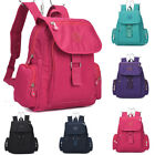 Ladies Mini Fabric Backpack Rucksack Girls School Bag College Womens Shoulder Gy