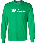 TAP Air Portugal Vintage Logo Portuguese Airline Long-Sleeve T-Shirt
