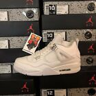 2017 Air Jordan Retro 4 &quot;Pure Money&quot; White  308497 100 MEN Size: 4Y-13 <br/> IN STOCK &amp; READY TO SHIP!!!! FASTEST FREE SHIPPING!!!!!