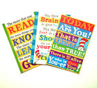 dr seuss quotes brains in your head - Dr Seuss Inspirational Quotes Poster Print - Assorted Styles - New in Plastic