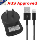 For Apple iPhone AC Wall Charger Cable Adapter iPhone 7 6 6s Plus 5s 5 SE iPad