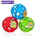 Drain Food Ball Dog Toy Natural Non-Toxic Rubber Teddy Golden Geometric Toy Ball