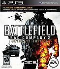 PlayStation 3 Battlefield Bad Company 2 Ultimate Edition VideoGames