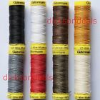 Gutermann Strong Linen Thread Sewing Repair Mending Leather Upholstery 50m Reel