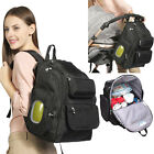 NEW Baby Diaper Bag Mommy Mummy Backpack Nappy Changing Bag Stroller Hanging Bag