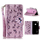 Magnetic Flip Stand Card Slot Wallet PU Leather+TPU Case For Various Phone