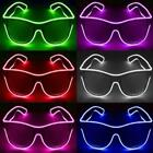 GlowCity LED EL Wire Light Up Sunglasses Eyewear Shades For Night Party