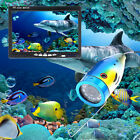 "7"" Inch 1000tvl 50M Underwater Fishing Video Camera Kit 12 PCS LED"