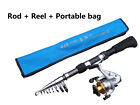 Portable carbon telescopic sea beach fishing rod CW:30-80g & C150 spinning reel