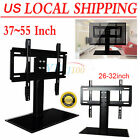 flat screen size - Adjustable Universal TV Stand Pedestal Base Mount Flat Screen TV 2 Sizes US